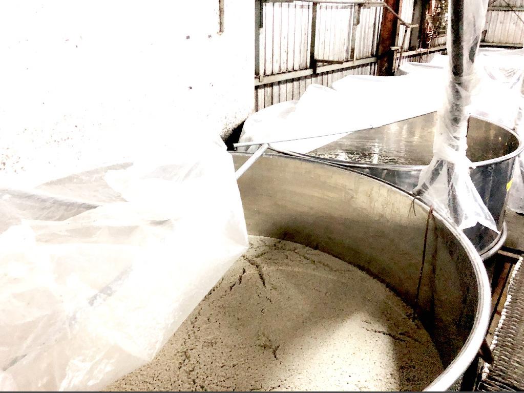 もろみ酢の製造法